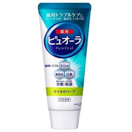 Зубная паста Kao Pure oral nano bright, травяной вкус