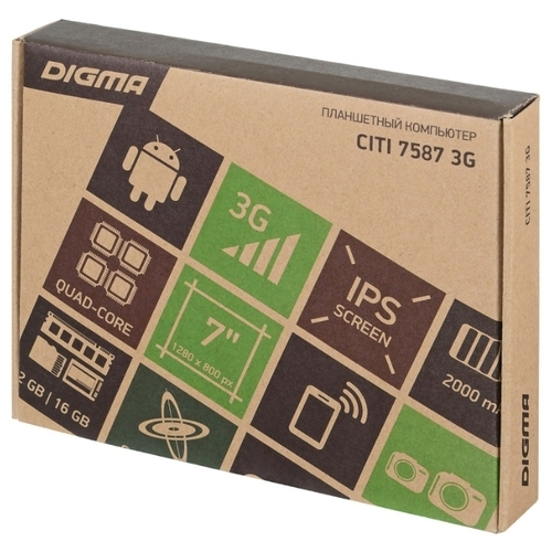 Планшет DIGMA CITI 7587 3G