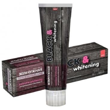 Зубная паста Жемчужная Professional line Black&Whitening