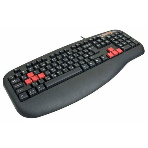 Клавиатура A4Tech X7-G500 Black PS/2