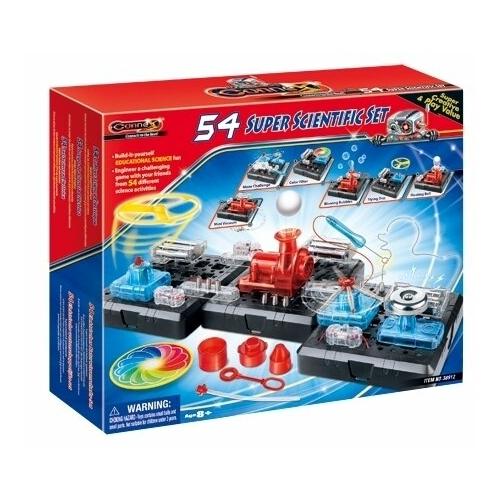 Электромеханический конструктор Amazing Toys Connex 38912 54 научных опыта