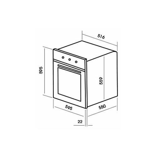 Электрический духовой шкаф MBS DE-611