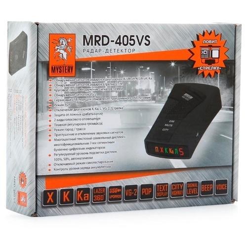 Радар-детектор Mystery MRD-405VS