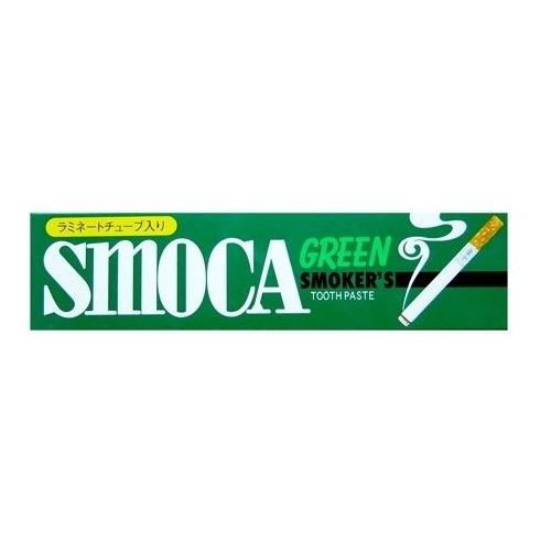 Зубная паста Smoca Green для курильщиков, мята и эвкалипт