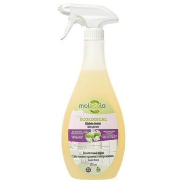 Экологичный спрей для чистки кухонных поверхностей Дикая яблоня Molecola