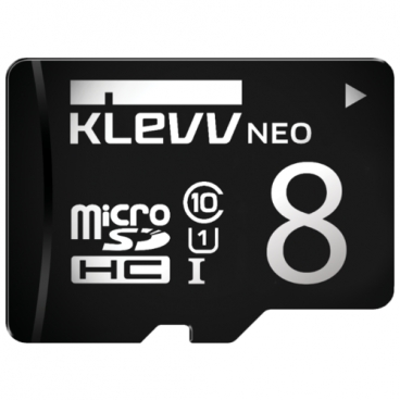 Карта памяти KLEVV microSDHC Class 10 UHS-I U1 + SD adapter