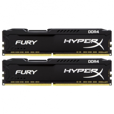 Оперативная память 16 ГБ 2 шт. HyperX HX424C15FBK2/32