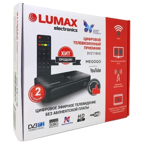TV-тюнер LUMAX DV-2118HD