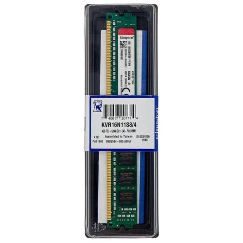 Оперативная память 4 ГБ 1 шт. Kingston KVR16N11S8/4