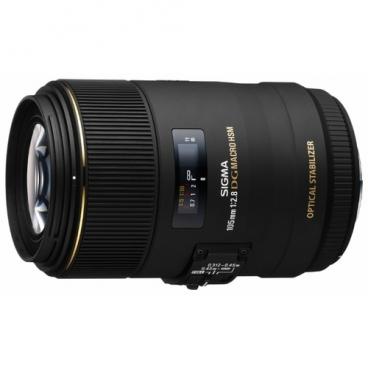 Объектив Sigma AF 105mm f/2.8 EX DG OS HSM Macro Canon EF