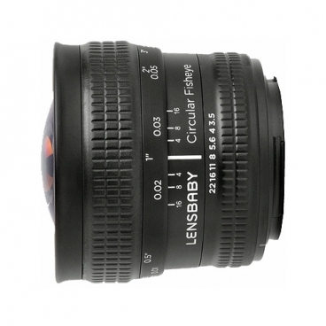 Объектив Lensbaby Circular with Fisheye Nikon F""