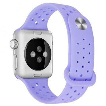 Aceshley Luxe Ремешок силиконовый спортивный для Apple Watch 38 мм