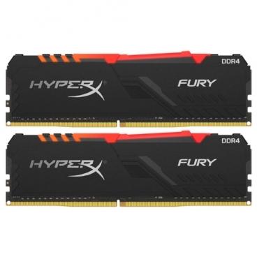 Оперативная память 16 ГБ 2 шт. HyperX HX434C16FB3AK2/32