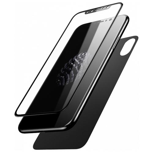 Защитное стекло Baseus Glass Film Set для Apple iPhone X