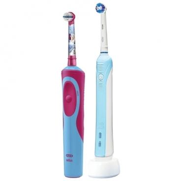Электрическая зубная щетка Oral-B Pro 500 + Stages Power Холодное сердце (2017)