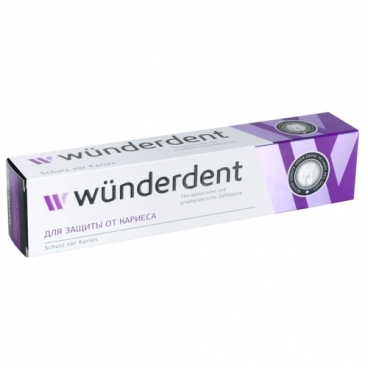 Зубная паста Modum Wunderdent для защиты от кариеса
