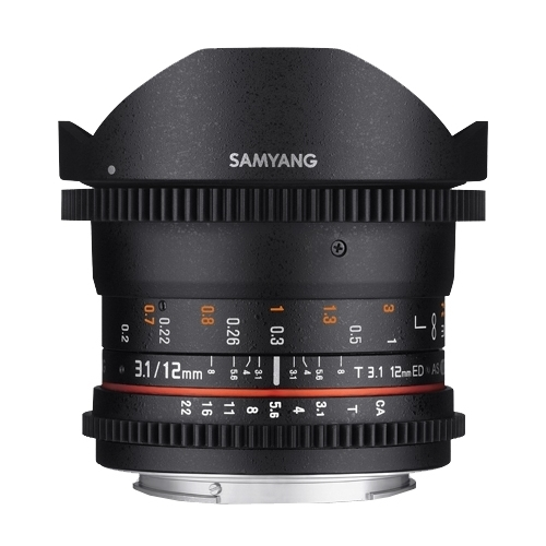 Объектив Samyang 12mm T3.1 ED AS NCS VDSLR Fish-eye Nikon F""