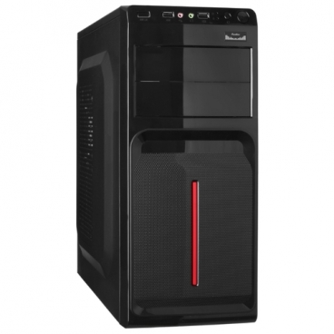 Компьютерный корпус ExeGate AB-221 350W Black
