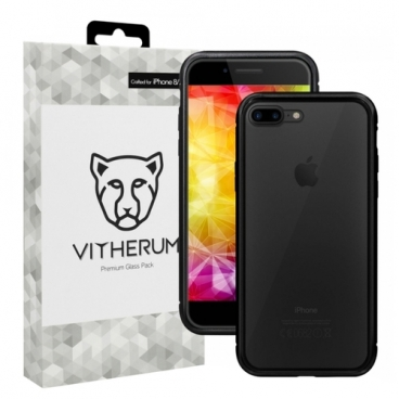 Чехол Vitherum SILVER Premium Glass Pack для Apple iPhone 7 Plus/iPhone 8 Plus