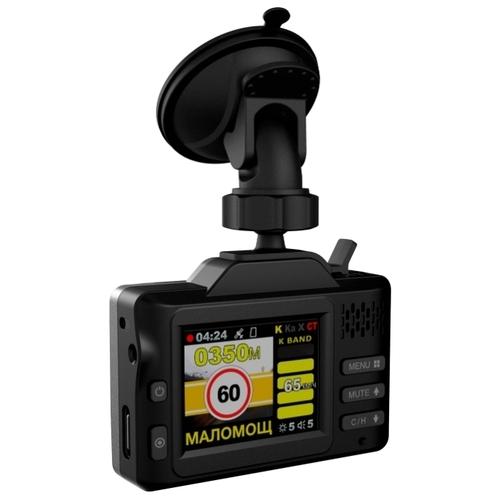 Видеорегистратор с радар-детектором Intego Sapsan