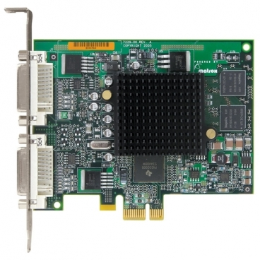 Видеокарта Matrox Millennium G550 126Mhz PCI-E 32Mb 333Mhz 64 bit 2xDVI