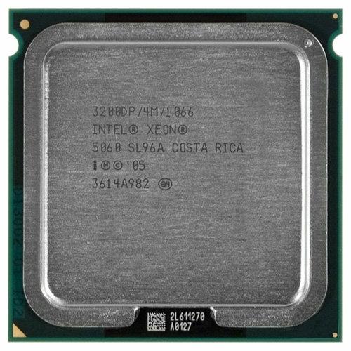 Процессор Intel Xeon 5060 Dempsey (3200MHz, LGA771, L2 4096Kb, 1066MHz)