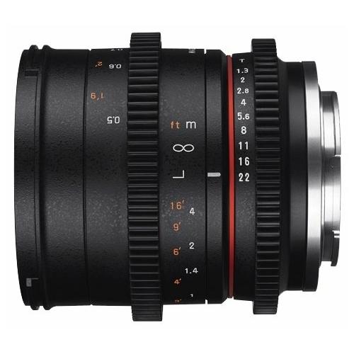 Объектив Samyang 50mm T1.3 AS UMC CS Canon M