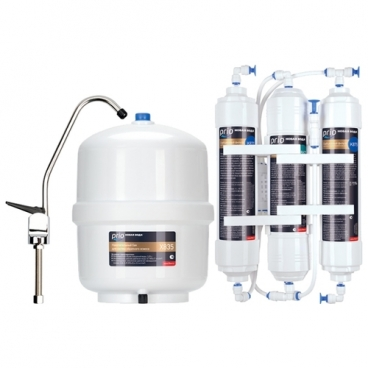 Фильтр под мойкой Prio Новая вода Econic Osmos O300 трехступенчатый
