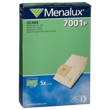 Menalux Бумажные пылесборники 7001 P