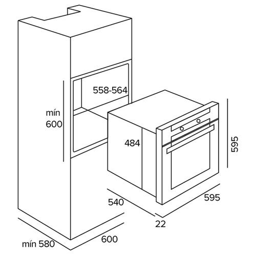 Электрический духовой шкаф TEKA HO 725G WHITE (41590101)