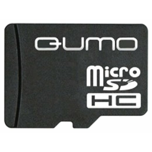 Карта памяти Qumo microSDHC class 4