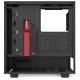 Компьютерный корпус NZXT H510 Black/red