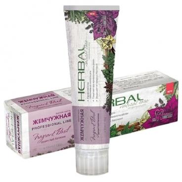 Зубная паста Жемчужная Herbal Базилик