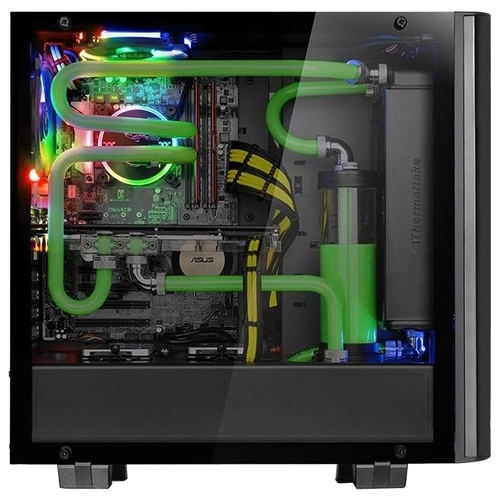 Компьютерный корпус Thermaltake View 21 TG CA-1I3-00M1WN-00 Black