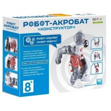 Электромеханический конструктор ND Play На элементах питания 265616 Робот-акробат