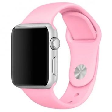 Karmaso Ремешок для Apple Watch 42 мм спортивный нежно-розовый