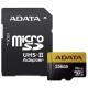 Карта памяти ADATA Premier ONE microSDXC UHS-II U3 Class 10 + SD adapter