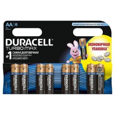 Батарейка Duracell Turbo MAX AA/LR6