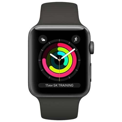 Часы Apple Watch Series 3 42mm Aluminum Case with Sport Band