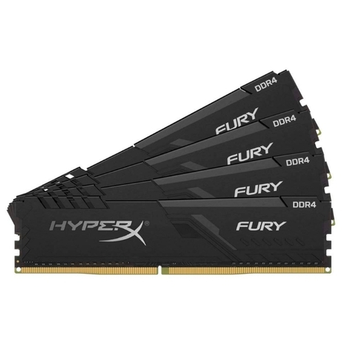Оперативная память 16 ГБ 4 шт. HyperX HX424C15FB3K4/64