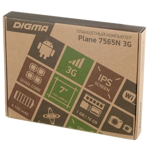 Планшет DIGMA Plane 7565N 3G