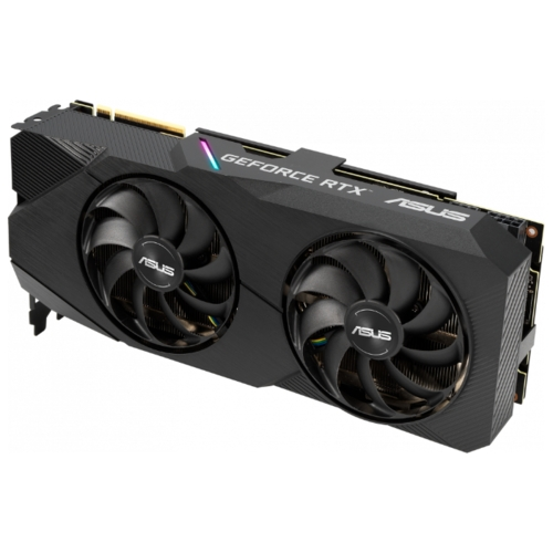 Видеокарта ASUS DUAL GeForce RTX 2070 SUPER 1605MHz PCI-E 3.0 8192MB 14000MHz 256 bit 3xDisplayPort HDMI HDCP EVO Advanced