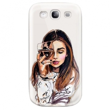 Чехол With Love. Moscow W003201SAM для Samsung Galaxy S3