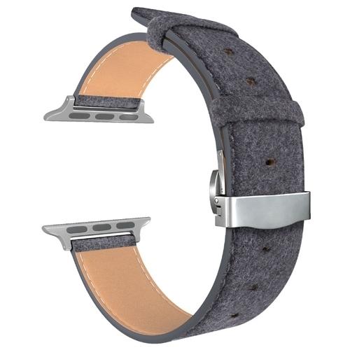 Lyambda Кожаный ремешок Minkar для Apple Watch 42/44 mm (DSP-10)