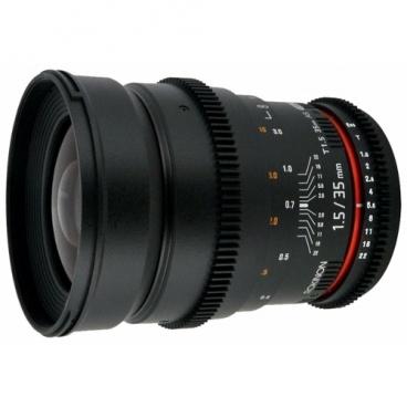 Объектив Samyang 35mm T1.5 ED AS UMC VDSLR Sony E