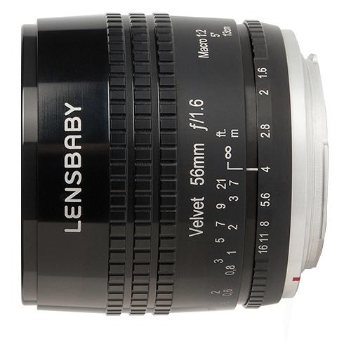 Объектив Lensbaby Velvet 56mm Micro 4/3