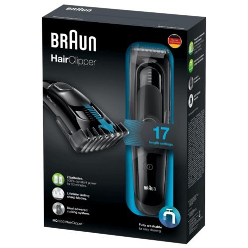 Машинка для стрижки Braun HC 5010