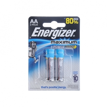 Батарейка Energizer Maximum+Power Boost AAA/LR03