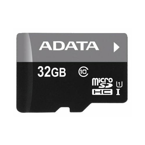Карта памяти ADATA Premier microSDHC Class 10 UHS-I U1 + OTG MICRO READER