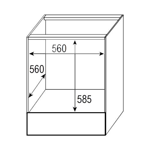 Электрический духовой шкаф Zigmund & Shtain EN 116.622 B